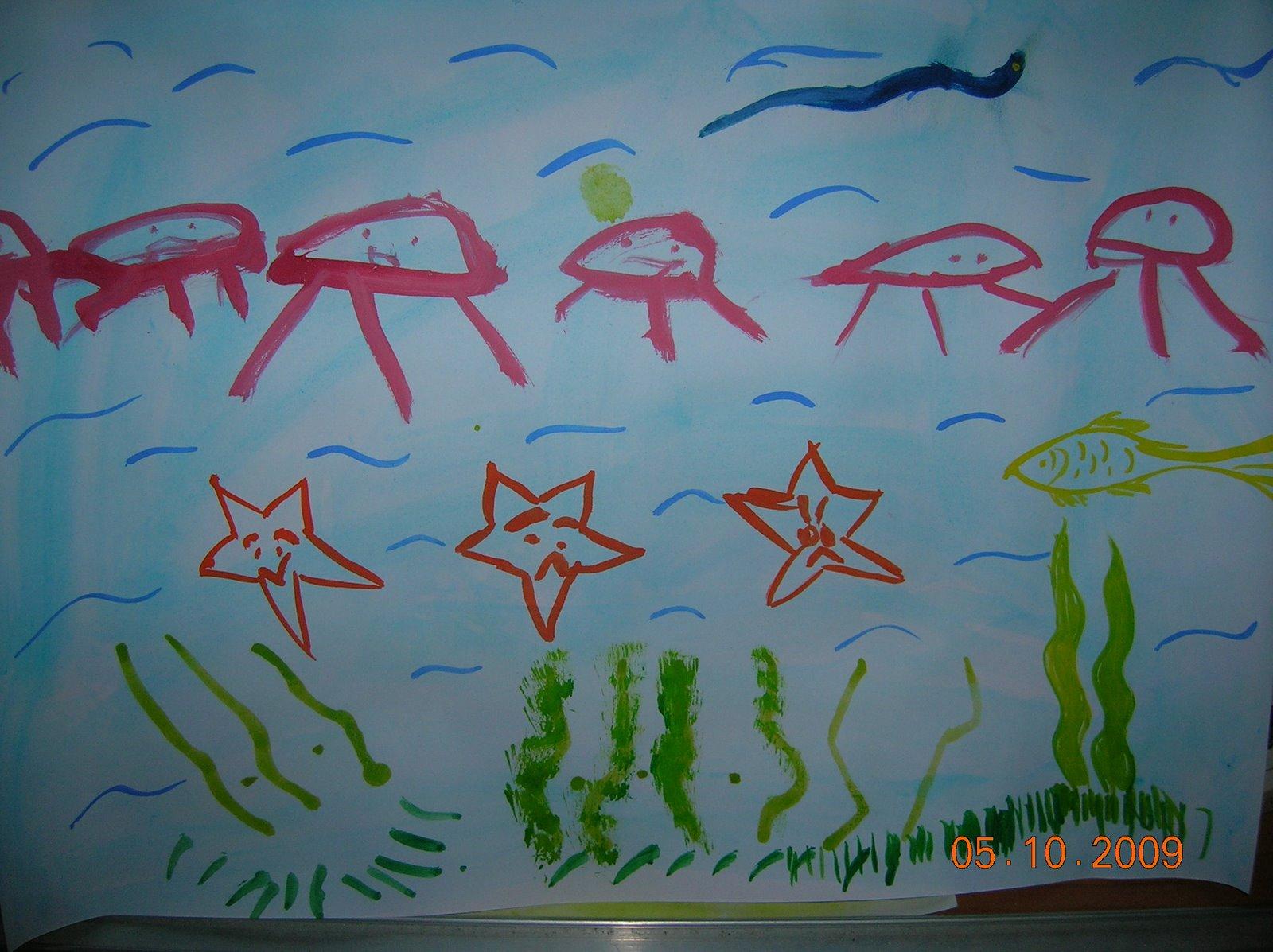 Lukisan Haiwan Laut Cikimm Com
